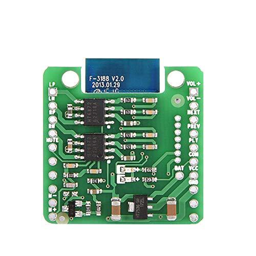 Socobeta Módulo Receptor Bluetooth 4.0 CSR8645 Módulo Receptor de Audio Módulo de Amplificador de Alta fidelidad para Altavoz de Amplificador de Coche