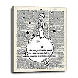 The Little Prince Graffiti Canvas Wall Art 16x20 -...