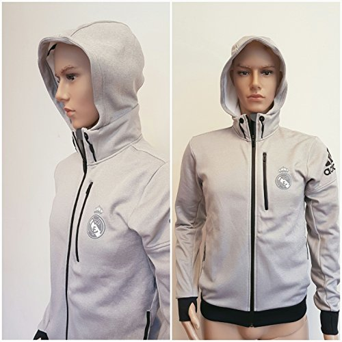 adidas Infinite Series Daybreak Real Madrid Hoodie - Grey, AN6274 (S)
