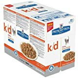 Hill's Prescription Diet Feline Kidney Care K-D Pouch Beef 12 x 85gram