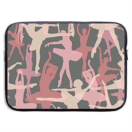 Ballerina 15 Inch Laptop Sleeve Tas - Tablet Clutch Draagtas