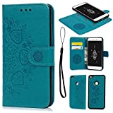 Geniric P8 Lite 2017 Case Leather, Huawei P8 Lite 2017 Case