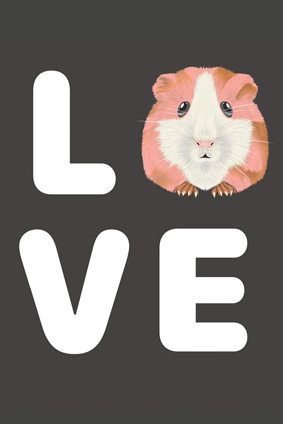 LOVE: Hamster Notebook 120 Lined Pages 6