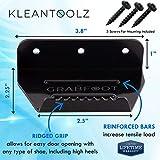 Kleantoolz Grabfoot Commercial Door Opener Tool. Medium Handsfree Door Foot Pull for Big...
