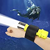 BESTSUN 1800Lm Professional Diving Flashlight Super Bright CREE LED AAA/18650 Diving Swimming Light Waterproof Underwater Diver Submarine Torch Scuba Safety Lights Dive Lamp (Battery not inlcuded)