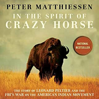 In the Spirit of Crazy Horse audiobook cover art