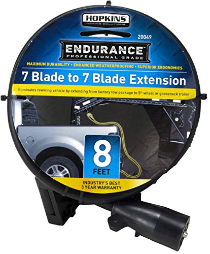 Endurance Hopkins 20049 7-to-7 Blade 8' Molded Cable 5th Wheel Extension