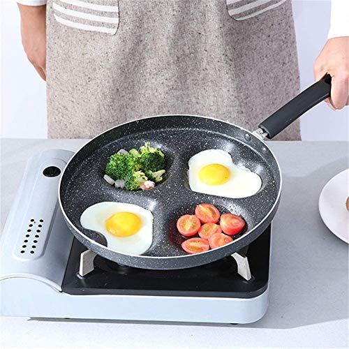 Pfannenset koekenpan gecoate 28 cm, pan voor de dagelijkse boodschappen, ergonomische handgreep, voor types van kachels gaskachel
