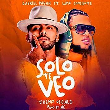 Solo Te Veo (Remix) [feat. Lapiz Conciente]