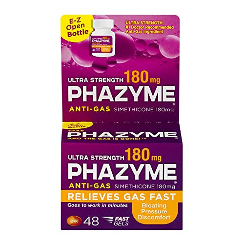Phazyme Anti-Gas Ultra Strength 180 mg Softgels - 48 ct, Pack of 2