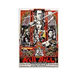 GTDF Art Kill Bill Movie Poster Poster dekorative Malerei