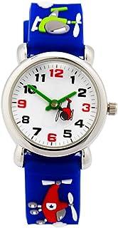 Hemobllo Kids Watches 3D Cartoon Fighter Birthday Gift Watch Wrist Watch for Children