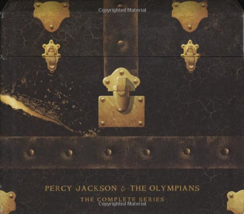 Percy Jackson and the Olympians Hardcover Boxed Set: Books 1 - 5 (Percy Jackson & the Olympians)