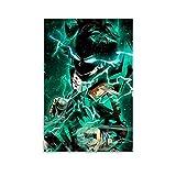 SSWQ Anime Poster MHA My Hero Academia Midoriya Deku Canvas