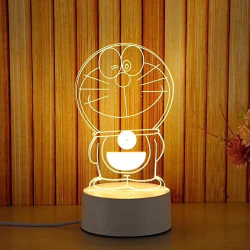 nachtlicht steckdose bewegungsmelder Cadeau 3D lampe de table créative protection oculaire veilleuse-Kitty 11 * 20 nachtlicht steckdose