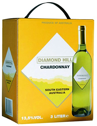 Diamond Hill - Chardonnay Weißwein 13% Vol. - 3l Bag-in-Box