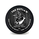 Badass Beard Care Beard Wax For Men - The Outlaw Scent, 2 oz - Softens Beard Hair, Leaves Your Beard Looking and Feeling More Dense