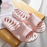 Sandalias Deslizantes Unisex,Zapatillas de Agua Antideslizantes de baño de baño, Zapatos de Fondo Suave de Secado rápido-Polvo Superficial_40-41,Chanclas para Hombre