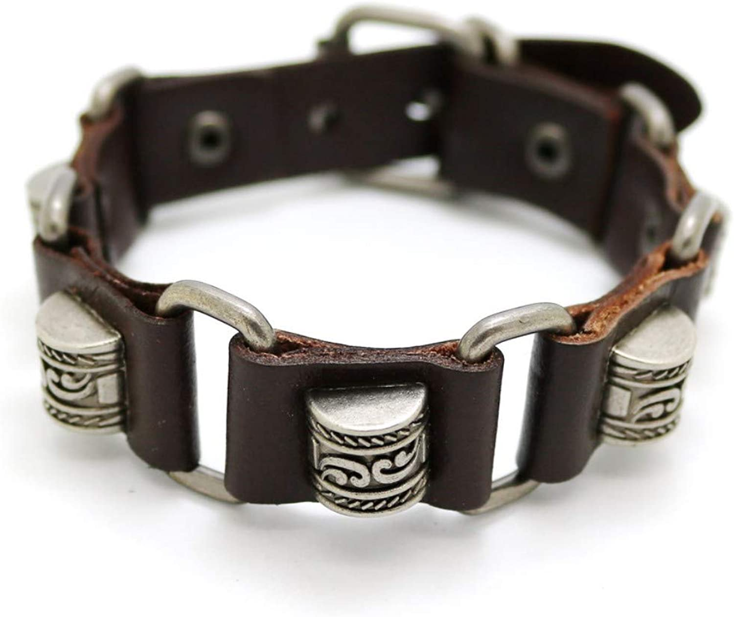 Bracelet Men,Accessories for Men and Women and Retro Casual Brown Bracelets Men and Women Punk Bracelet Bracelet Fashion Jewelry Bracelets