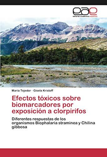 Efectos tóxicos sobre biomarcadores por exposición a clorpirifos: Diferentes respuestas de los organismos Biophalaria straminea y Chilina gibbosa