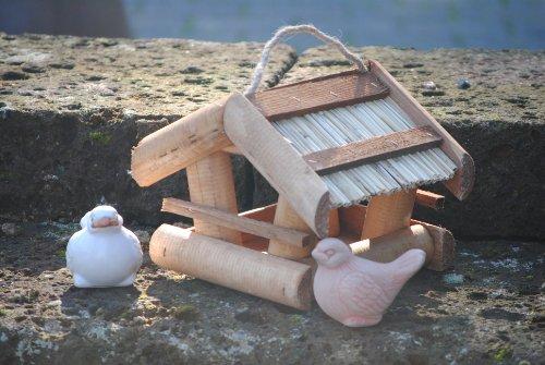 Vogelhaus zum Hängen aus Holz,M.663 - 2