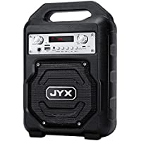 Jyx Portable Rechargeable Bluetooth 5.0 Speaker with FM Radio