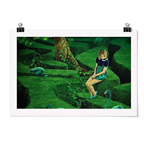 Bilderwelten Poster - Donna nel Labirinto - Orizzontale 2:3 Carta Adesiva 40 x 60cm