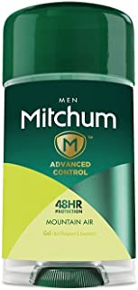 Mitchum Men's Twin Pack Antiperspirant Gel Deodorant, Mountain Air, 10.8 Ounce (Pack of 6)