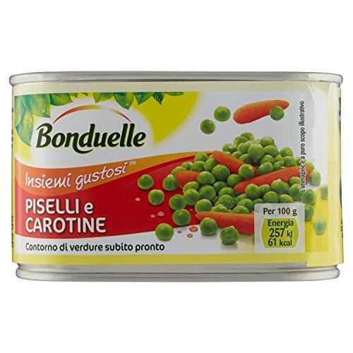 Bonduelle Piselli e Carotine, 400g
