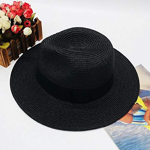 WNWZHWHR-Sun Hat Cap Female Sonnenschutz Sonnenhut Ladiesstraw Hut, Sonnenschutz Strohhut, Daily Wear @ D_M