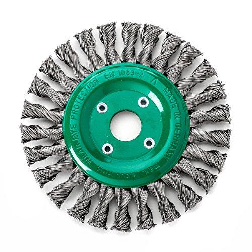 Rond Tressé DRM 150 mm x 14 x 26 Z en acier brut rouille lisse 0,50 mm alésage 22,2 mm