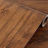 Rétro Bois Grain Contact Papier Autocollant étagère Doublure de tiroir Meubles Countertop Cabinet Autocollant 40cm x 2m