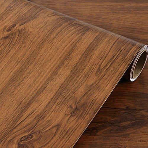 Retro adesivo di legno del gabinetto del controsoffitto della mobilia del cassetto della fodera della carta del contatto del grano di legno retro 40 x
