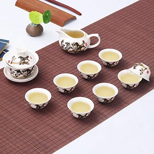 Ksnrang Juego de té Juego de té Juego de Tazas de té...