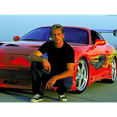 ysldtty Pintura sobre Lienzo Paul Walker Fast and Furious 12 Movie Star Poster Home Decor Poster E575 Sin Marco 40cmx60cm