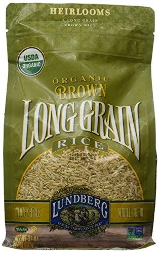 Lundberg Organic Long Grain Brown Rice, 32-Ounce