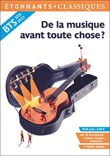 ~PDF Books~ De la musique avant toute chose ? Anthologie BTS 2021-2022 pour l'épreuve de culture générale et expression PDF Books