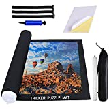 Puzzle Mat Roll Up 2000 Pieces, 16 Pieces Puzzle Glue Sheets for Puzzle Saver, Puzzle Saver Store 1000 1500 2000 Pieces, Jigsaw Puzzle Mat for Kids and Adults