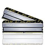 G.Skill SniperX F4-3200C16D-16GSXKB (DDR4-3200 8GB×2)
