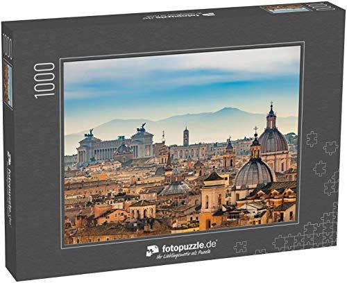 Puzzle 1000 Teile Blick von Castel Sant'Angelo auf Rom - Klassische Puzzle mit edler Motiv-Schachtel, Fotopuzzle-Kollektion 'Italien'