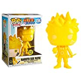 Anime Figure Naruto Uzumaki Fluorescence #186 Pop Vinyl Action Figure Toys, Decoration Statue Model For Kids Gifts 10Cm