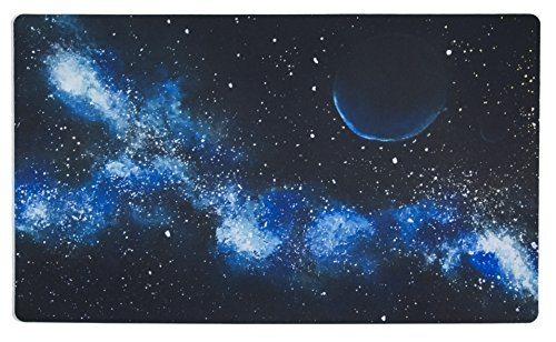 playmats Inked Playmats Blue Galaxy Playmat Inked Gaming TCG Game Mat for Cards (13+)