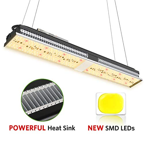 MARS HYDRO SP150 LED Grow Lights 2x2 ft Coverage Full Spectrum Grow Light for Indoor Plant Veg and Flower, Bright Led Growing Lamp with 322 SMD LEDs, No Noise, Great Heat Dissipation, Longer Lifespan