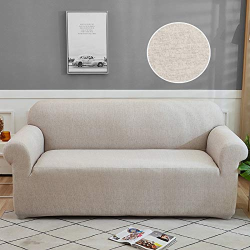 WXQY Funda de sofá con patrón geométrico Funda de sofá Funda elástica para sofá de Sala de Estar en Forma de L sofá de Esquina Toalla sillón Funda de sofá A24 1 Plaza