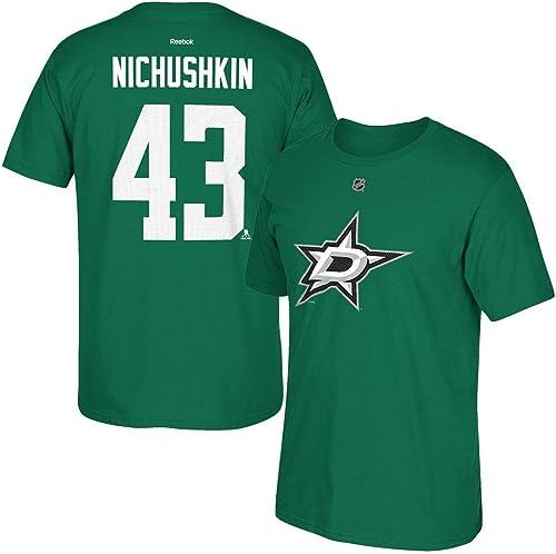 Adidas Valeri Nitchouchkine Reebok Dallas étoiles Player Premier Vert Jersey T-Shirt pour Homme