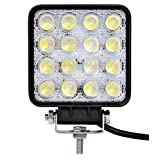 ledワークライト(作業灯) 48W (12V-24V対応) 広角タイプ トラック 高輝度 10~30V対応 車外灯