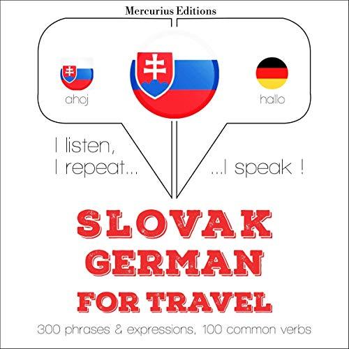 Slovak - German. For travel cover art
