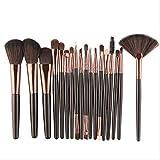 NXXS brochas de maquillaje, 18 piezas, kit de brochas de maquillaje, polvos, sombra de ojos, base, colorete, mezcla, belleza, cosméticos, brocha de maquillaje, Alemania como se muestra en la imagen