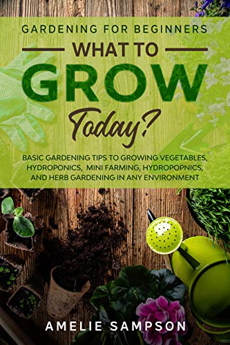 Gardening For Beginners: WHAT TO GROW TODAY? - Basic Gardening Tips To Growing Vegetables, Hydroponics, Mini Farming, Hydropopnics, and Herb Gardening In Any Environment