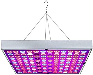 Zongsi 2018 Latest Function New Square Headclip Lamp Succulent Plant Supplementary Light LED Grow Light for Indoor Plants 45w Panel Blue+Red Lighting for Hydroponic Greenhouse Horticulture Planting